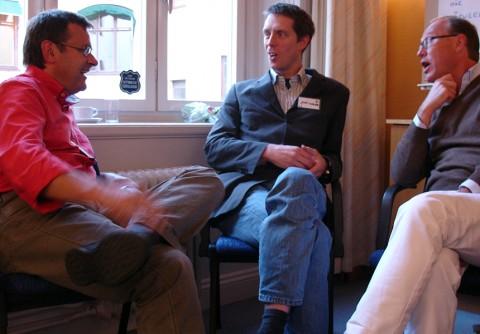 AF 2008 - konferenshuset - gästmedverkan - här bland annat Jonas Vikander, MacRent